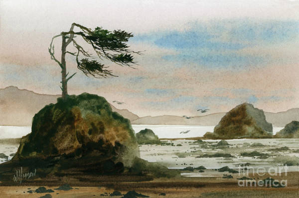Wall Art - Painting - Rugged Beauty Of The Coast by James Williamson