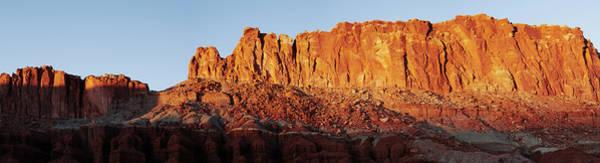 Wall Art - Photograph - Rugged Canyon Landscape Panoramic by Gary Yeowell