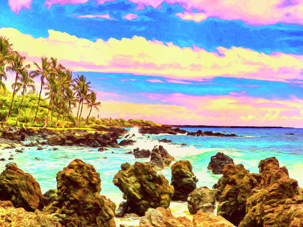 Painting - Rugged Maui Coast by Dominic Piperata