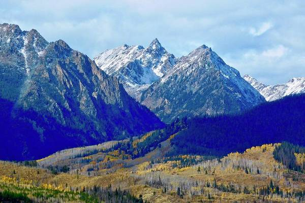 Photograph - Rugged Peaks by Dan Miller