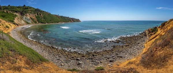 Photograph - Rugged Southern California Coastline Panorama by Andy Konieczny