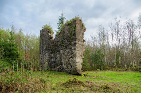 Photograph - Ruin At Lough Eske Donegal Ireland by Bill Cannon