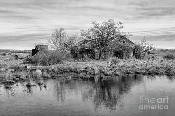 Wall Art - Photograph - Ruin In Reflection by Mike Dawson