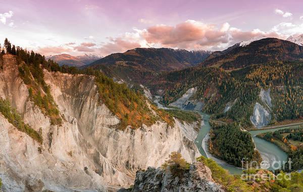 Swiss Alps Wall Art - Photograph - Ruinaulta by DiFigiano Photography
