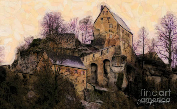 Painting - Ruined Castle by Chris Armytage