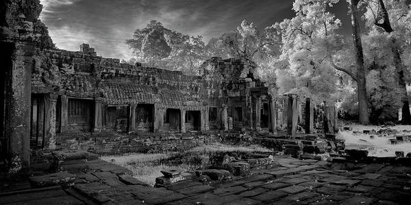 Wall Art - Photograph - Ruins At The Courtyard Of Ancient by Panoramic Images