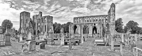 Famous Cemeteries Photograph - Ruins Of A Cathedral, Elgin Cathedral by Panoramic Images