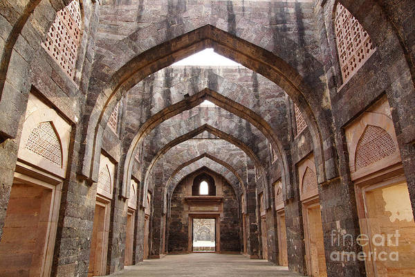 Worship Wall Art - Photograph - Ruins Of Afghan Architecture In Mandu by Igor Plotnikov