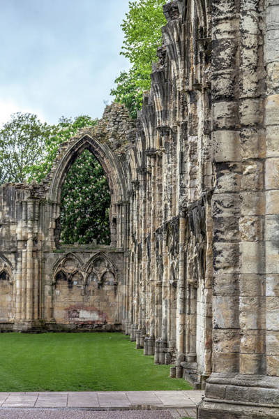 Wall Art - Photograph - Ruins Of St. Mary's Abbey by W Chris Fooshee