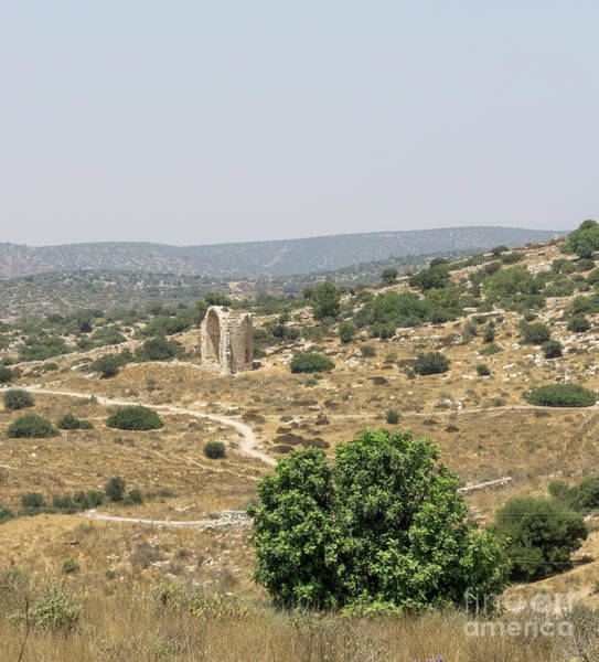 Photograph - Ruins Of The Church Of Saint Anne Can Be Seen From The Tel Mares by William Kuta