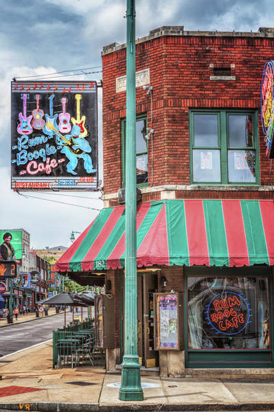 Photograph - Rum Boogie Cafe by Susan Rissi Tregoning