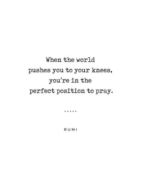 Wall Art - Mixed Media - Rumi Quote On Prayer 18 - Minimal, Sophisticated, Modern, Classy Typewriter Print by Studio Grafiikka