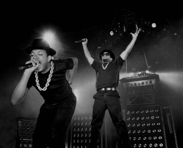 Hip Photograph - Run Dmc Live In Concert by Raymond Boyd