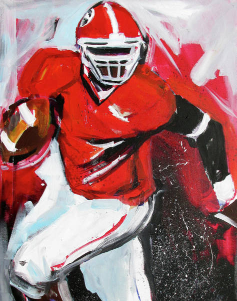 Painting - Run For It by John Jr Gholson