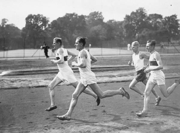 Endurance Race Photograph - Runners Training by Puttnam