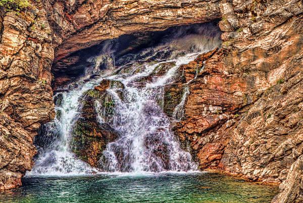 Camera Raw Photograph - Running Eagle Falls  by Brenton Cooper