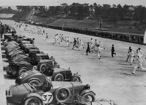 Motor Sport Photograph - Running For Cars by Pacific And Atlantic Photos Ltd