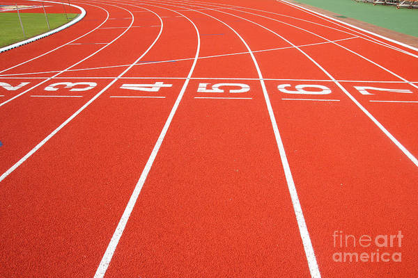 Wall Art - Photograph - Running Track by Wanchai