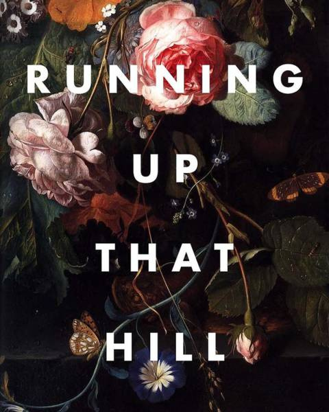Digital Art - Running Up That Hill Art Print by Georgia Fowler