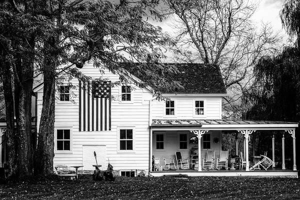 Photograph - Rural America Bw by Susan Candelario