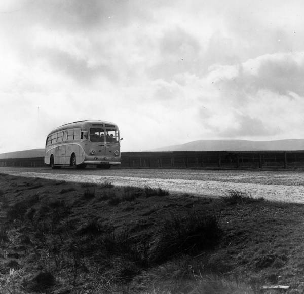 Public Land Photograph - Rural Bus by Thurston Hopkins