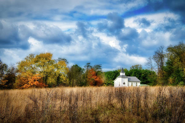 Pasture Wall Art - Photograph - Rural Church by Tom Mc Nemar