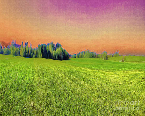 Digital Art - Rural Delight by Edmund Nagele