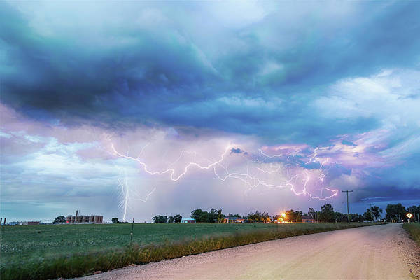 Photograph - Rural Electrifying Skies by James BO Insogna