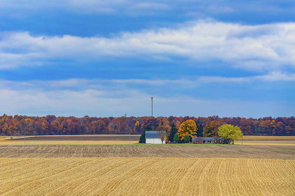 Photograph - Rural Landscape by Dan Sproul