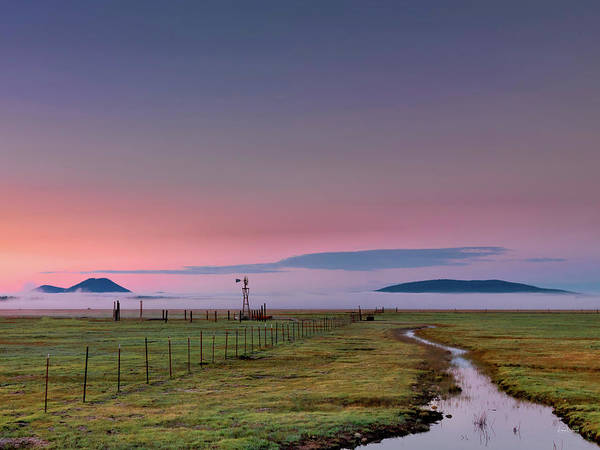 Oregon Wildlife Wall Art - Photograph - Rural Sunrise by Leland D Howard