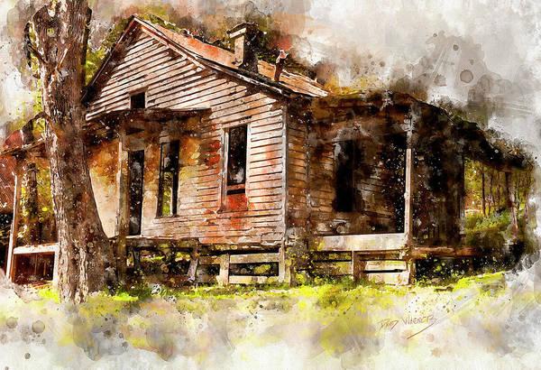 Arkansas Mixed Media - Rush  by David Wagner