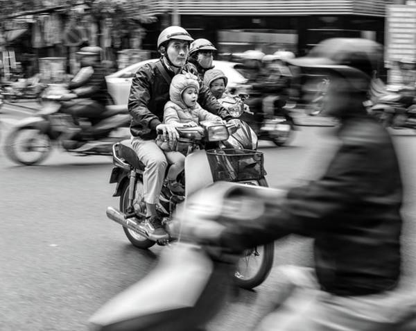 Photograph - Rush Hour 1 by Rand