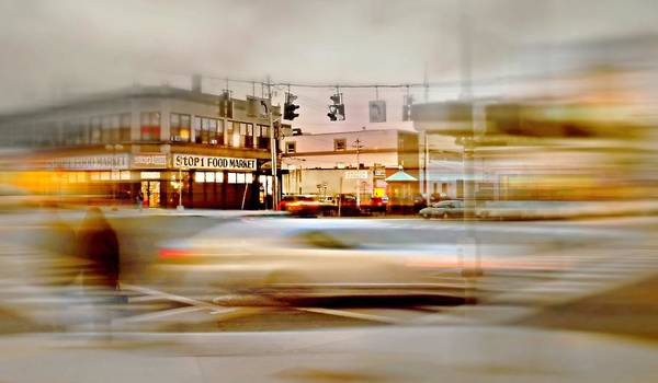 Wall Art - Photograph - Rush Hour Flash by Diana Angstadt