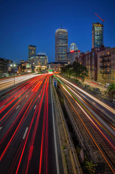 Photograph - Rush Hour In Boston by Kristen Wilkinson