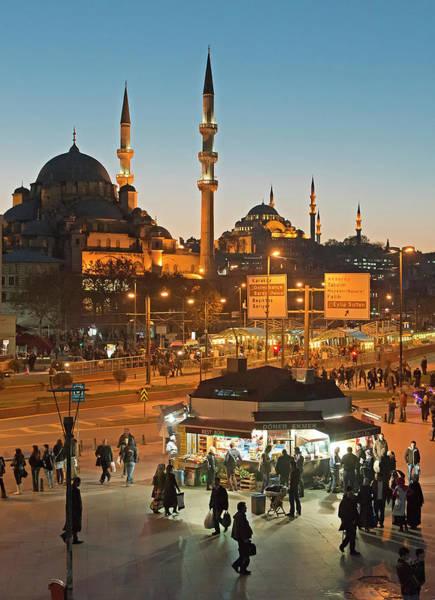 Suleymaniye Mosque Photograph - Rush Hour, Istanbul, Turkey by Korhan Sezer