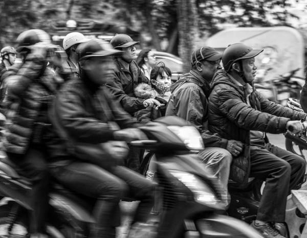 Photograph - Rush Hour by Rand