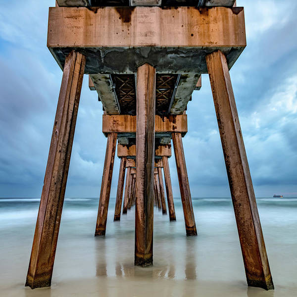 Wall Art - Photograph - Russell Fields Pier - Panama City Beach by Gregory Ballos