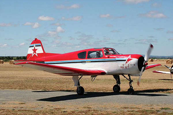 Yakovlev Photograph - Russian Aerobatic Aircraft by Fran West