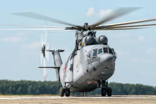 Photograph - Russian Aerospace Forces Mi-26 by Daniele Faccioli