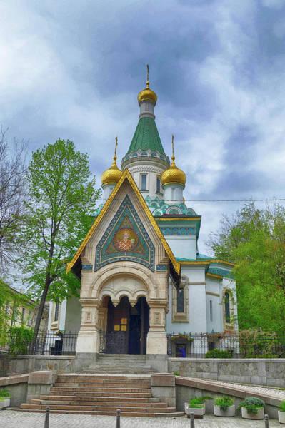 Photograph - Russian Church St. Nicholas by Steve Estvanik