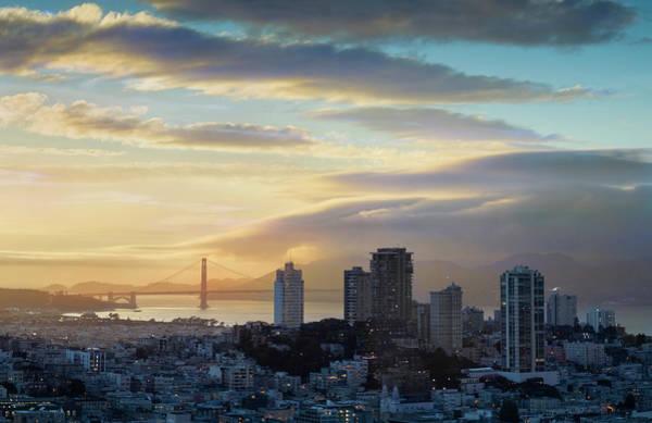 Wall Art - Photograph - Russian Hill And The Golden Gate San Francisco by Steve Gadomski