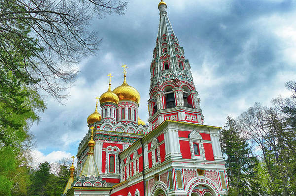 Photograph - Russian Orthodox Church, Shipchenski Monastery Of St Nicholas by Steve Estvanik