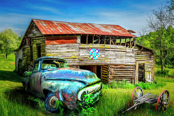 Wall Art - Photograph - Rust Along A Country Road by Debra and Dave Vanderlaan