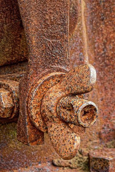 Astoria Wall Art - Photograph - Rusted Antique Equipment, Columbia by Adam Jones