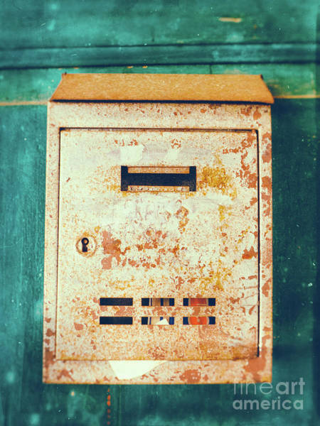 Photograph - Rusted Mailbox by Silvia Ganora