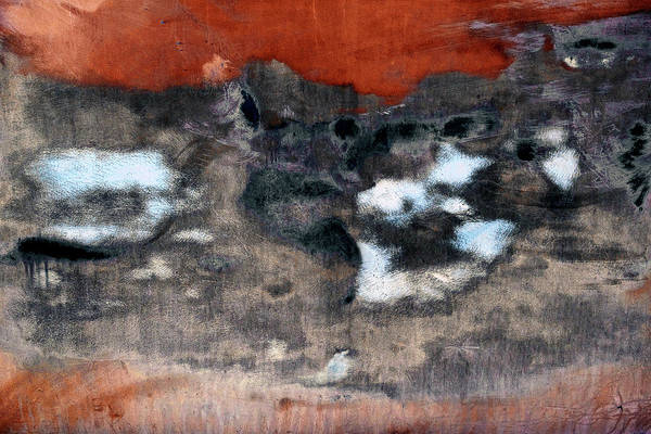 Wall Art - Photograph - Rusted Panel by Joseph Oland
