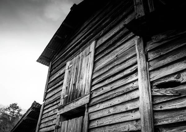 Photograph - Rustic Barn In Bw by Doug Camara