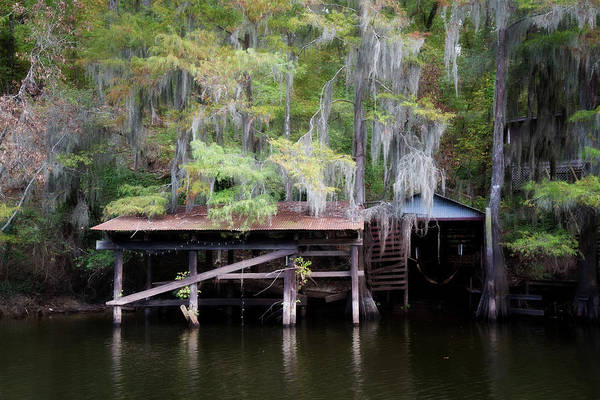 Wall Art - Photograph - Rustic Boat Dock by Lana Trussell