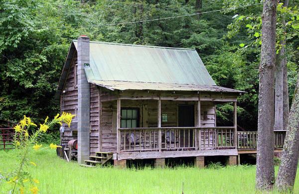 Photograph - Rustic Cabin by Cynthia Guinn