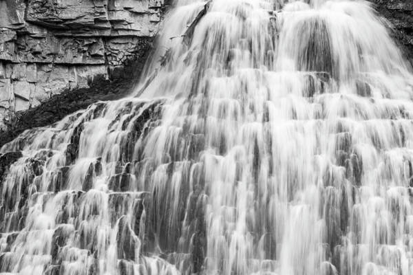 Wall Art - Photograph - Rustic Falls, Yellowstone National Park by William Sutton